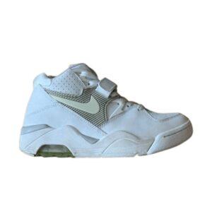 Nike Air Force 180 White Neutral Grey GS