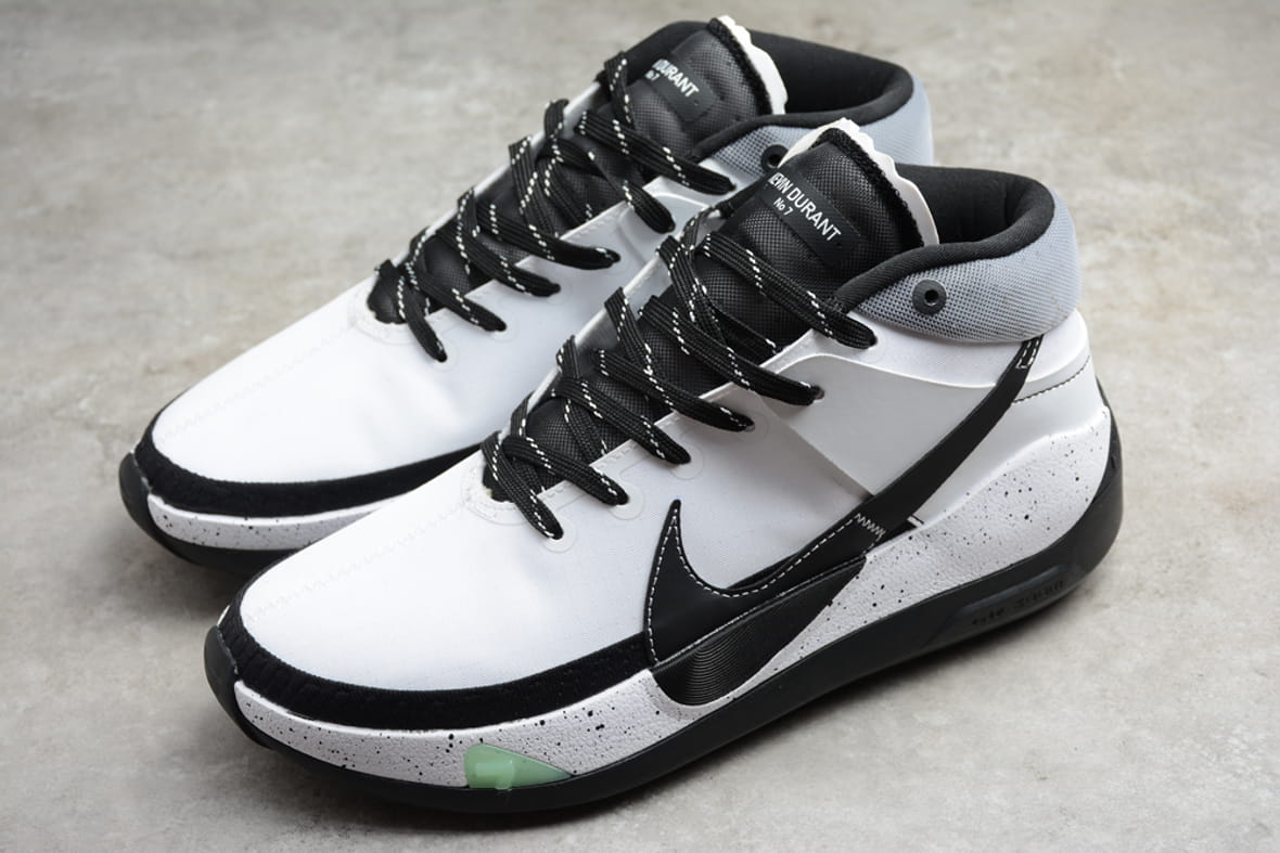 Nike KD 13 Team White Black 2