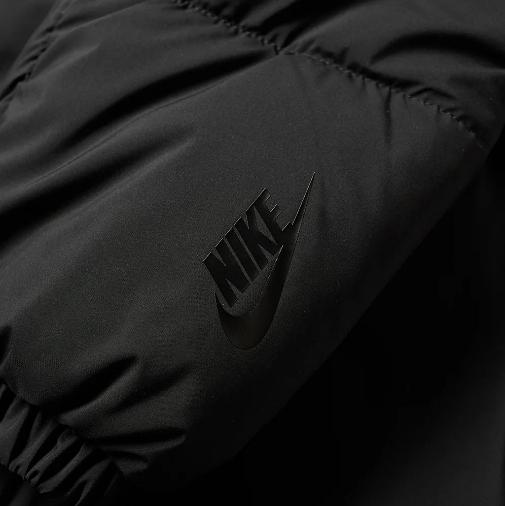 Nikelab Nrg Puffer Jacket Black Hyper Crimson 1