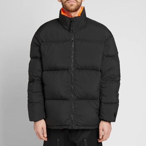 Nikelab Nrg Puffer Jacket Black Hyper Crimson 2