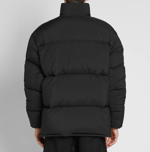 Nikelab Nrg Puffer Jacket Black Hyper Crimson 3