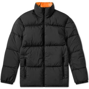 Nikelab Nrg Puffer Jacket Black Hyper Crimson