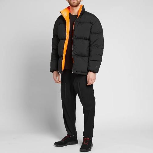 Nikelab Nrg Puffer Jacket Black Hyper Crimson 4