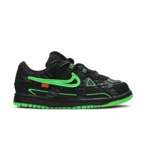 Off White x Nike Rubber Dunk Green Strike TD