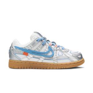 Off White x Nike Rubber Dunk University Blue PS