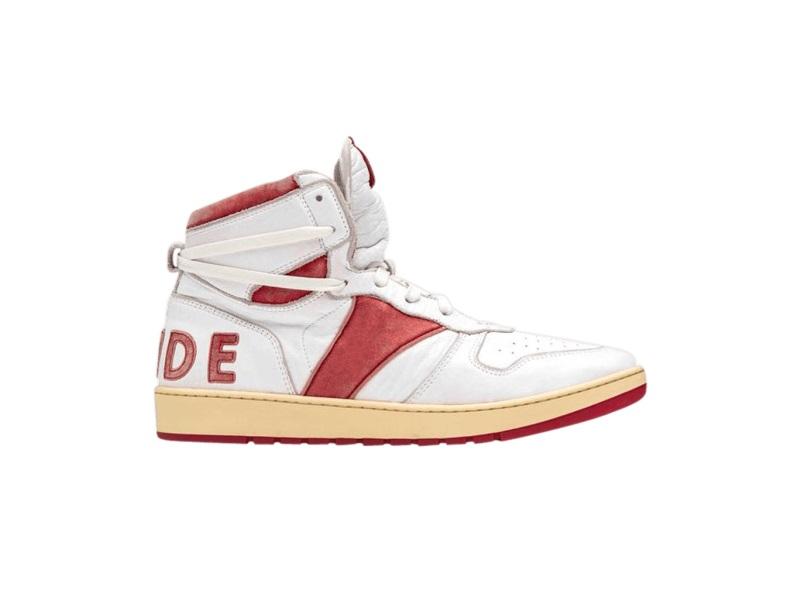 Rhude Rhecess High White Red 1