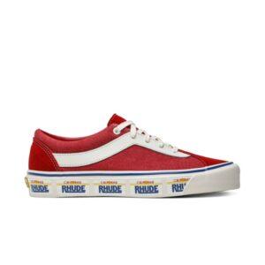 Rhude x Vans Bold Ni California Plate Red