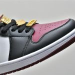 Wmns Air Jordan 1 Mid SE Gold Pendants 14