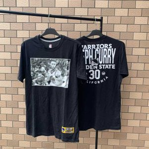 2020 NBA Top Players Black Tee Stephen Curry
