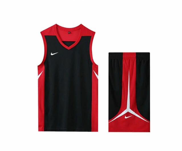 Basketbolnaya forma Nike Black Red