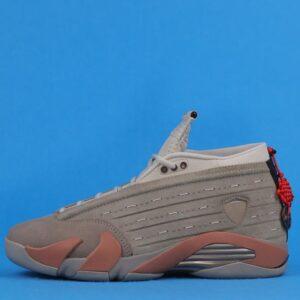 CLOT x Air Jordan 14 Retro Low Sepia Stone 1