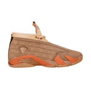 CLOT x Air Jordan 14 Retro Low Sepia Stone