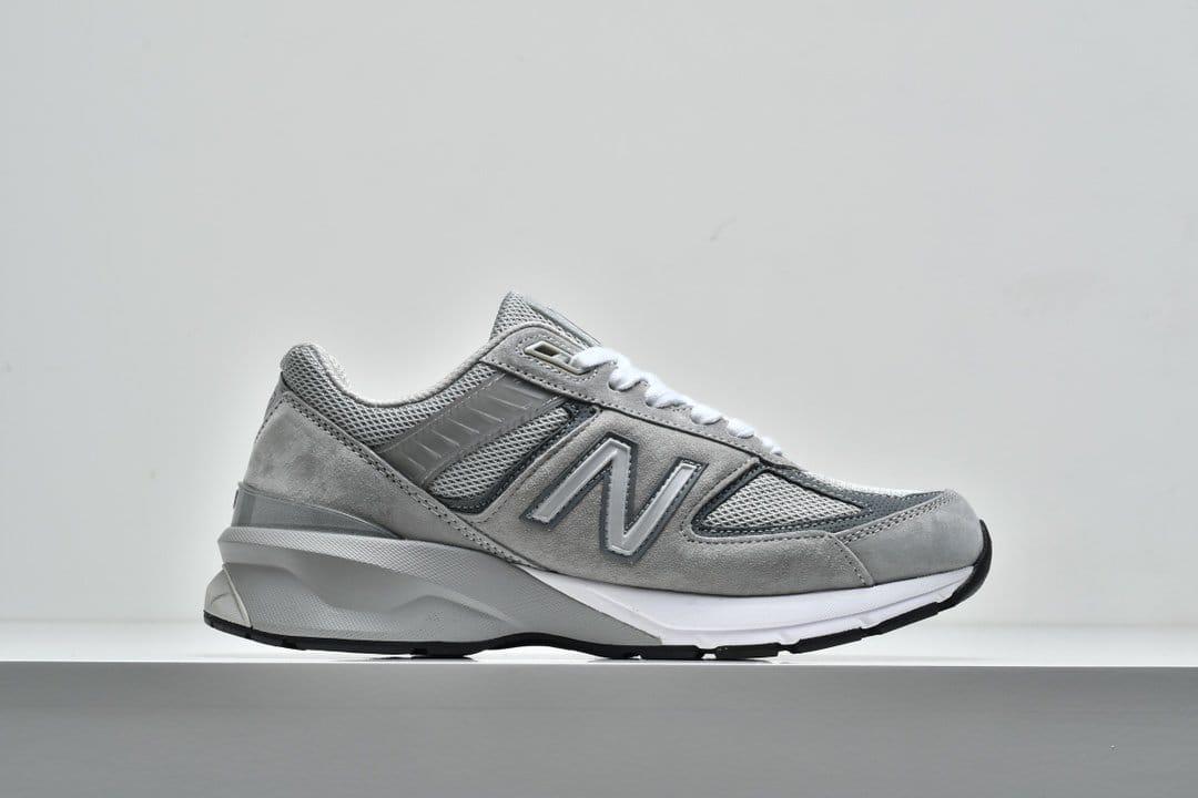 New Balance 990v5 Made In USA Grey 1