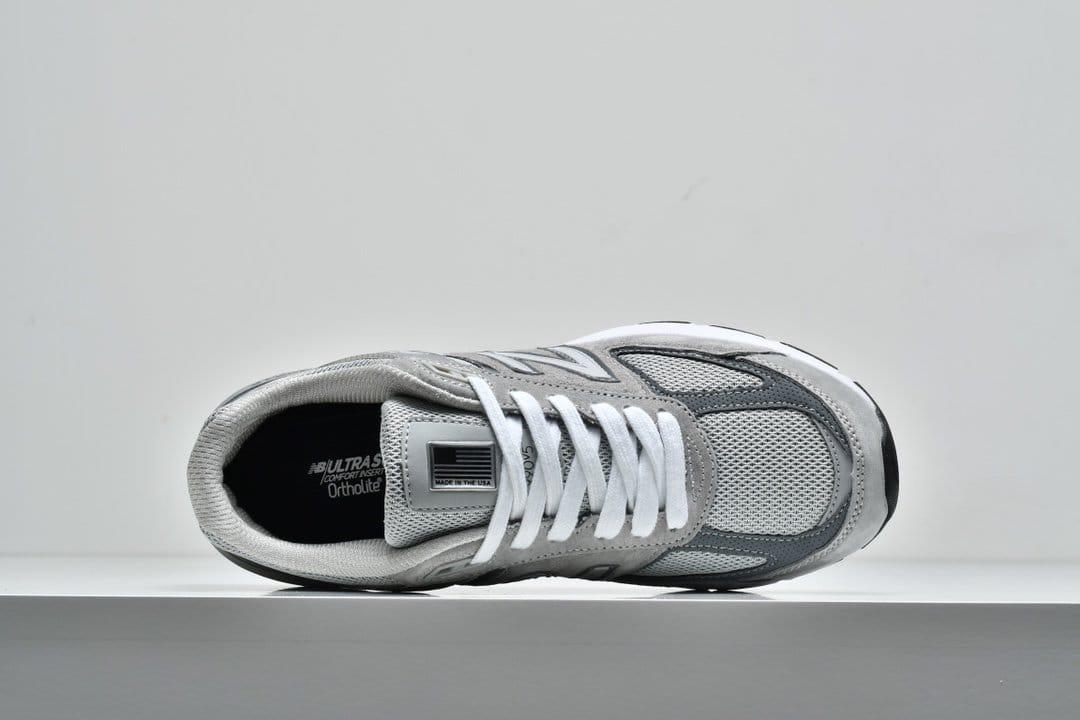 New Balance 990v5 Made In USA Grey 2