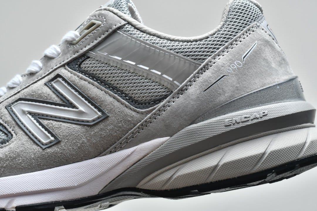 New Balance 990v5 Made In USA Grey 8