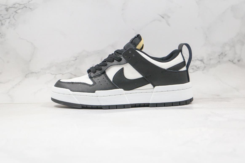 Nike Dunk Low Disrupt Black White W 1