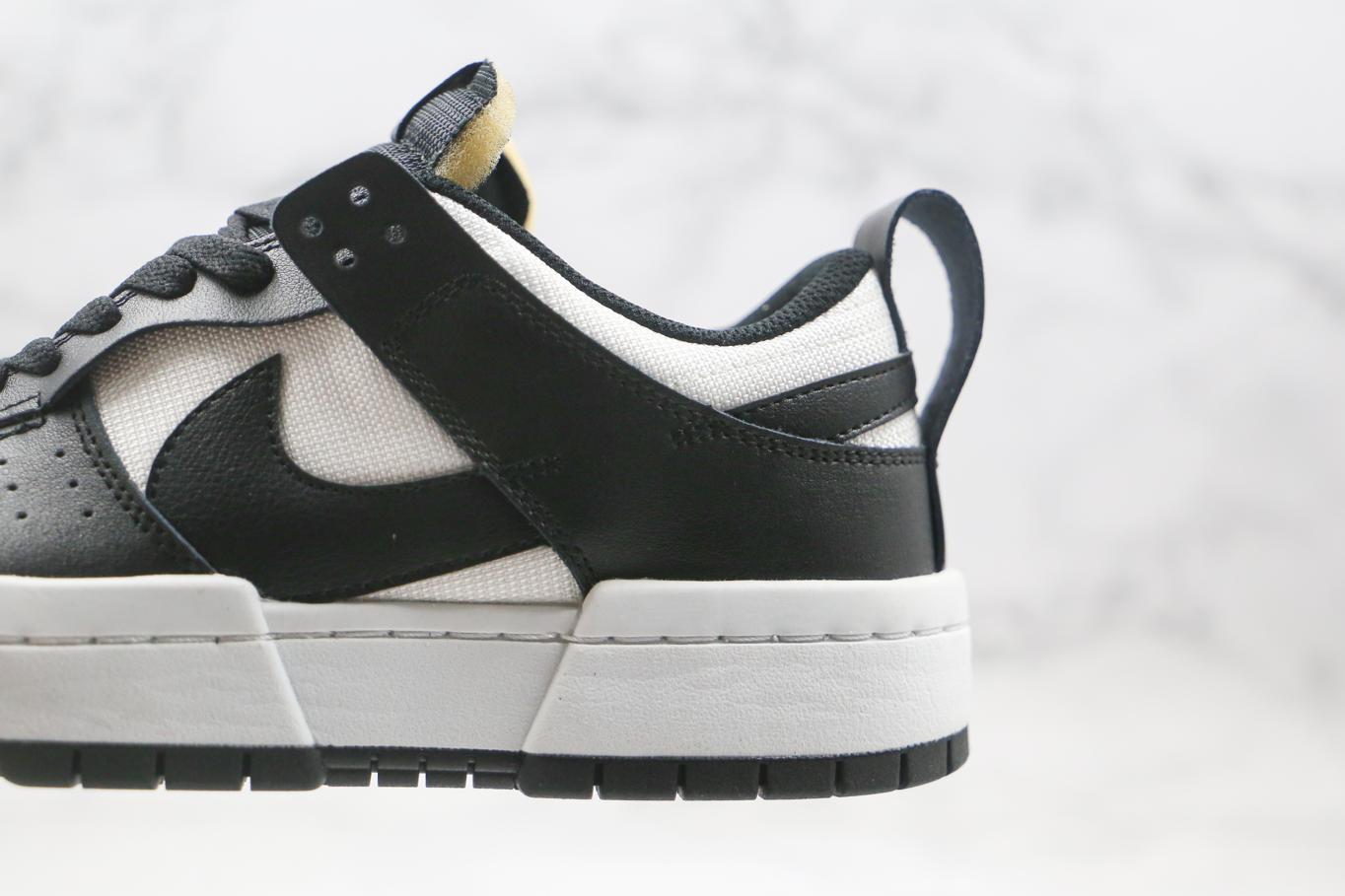 Nike Dunk Low Disrupt Black White W 4