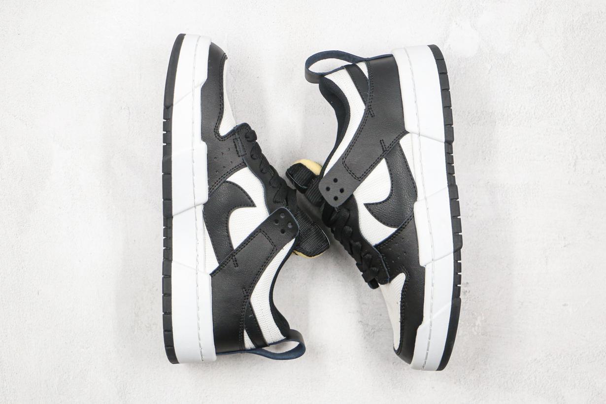 Nike Dunk Low Disrupt Black White W 5