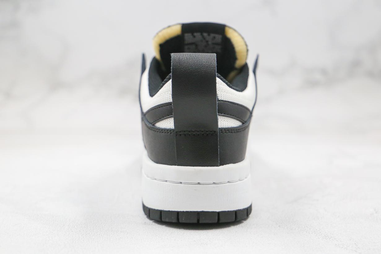 Nike Dunk Low Disrupt Black White W 8