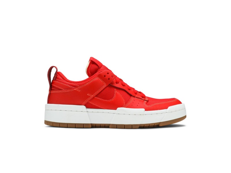 Nike Dunk Low Disrupt Red Gum W