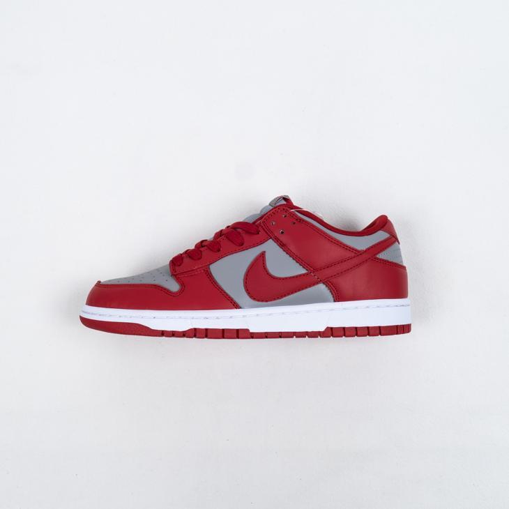 Nike Dunk Low Retro Medium Grey Varsity Red UNLV 2021 1