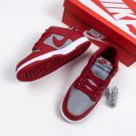 Nike Dunk Low Retro Medium Grey Varsity Red UNLV 2021 11