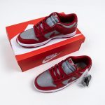 Nike Dunk Low Retro Medium Grey Varsity Red UNLV 2021 12