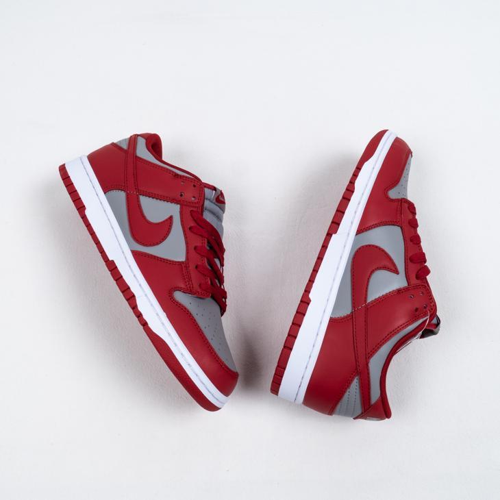 Nike Dunk Low Retro Medium Grey Varsity Red UNLV 2021 2