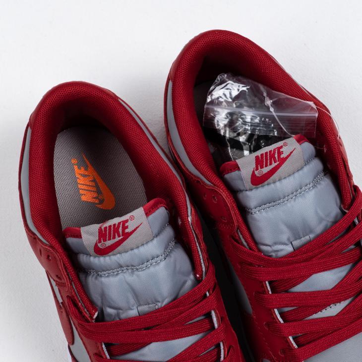 Nike Dunk Low Retro Medium Grey Varsity Red UNLV 2021 3