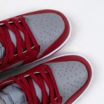 Nike Dunk Low Retro Medium Grey Varsity Red UNLV 2021 4