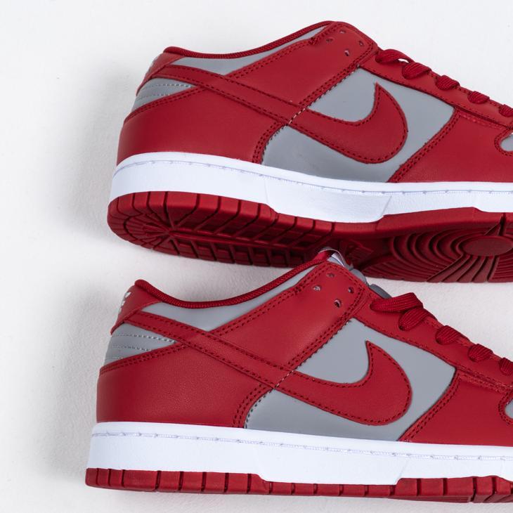 Nike Dunk Low Retro Medium Grey Varsity Red UNLV 2021 5