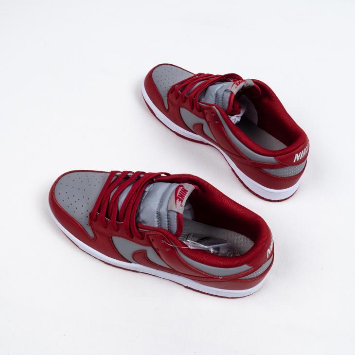 Nike Dunk Low Retro Medium Grey Varsity Red UNLV 2021 6