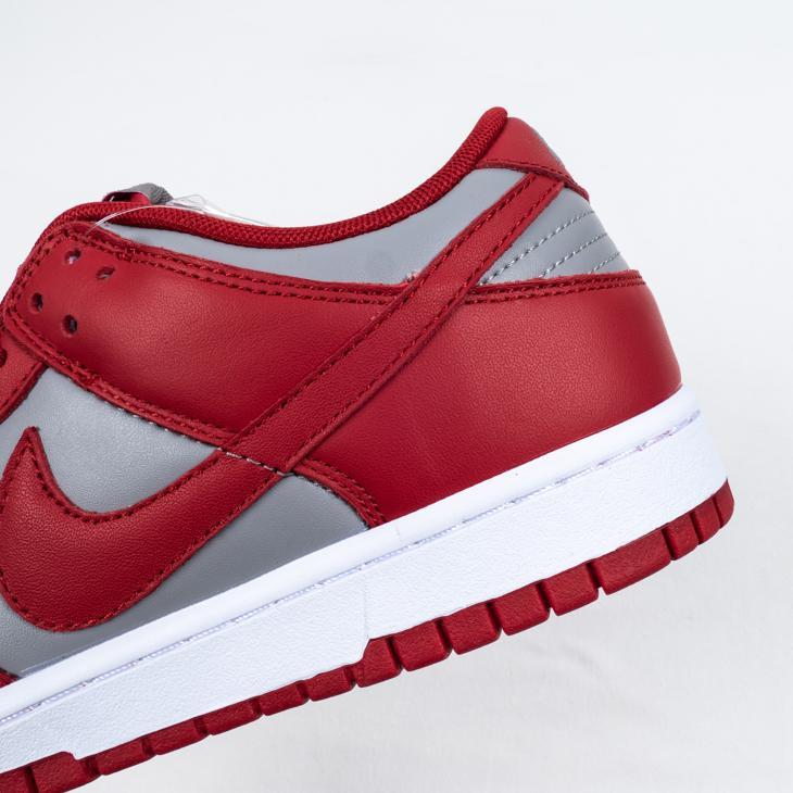 Nike Dunk Low Retro Medium Grey Varsity Red UNLV 2021 8