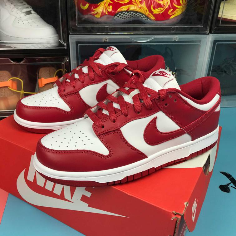 Nike Dunk Low St. Johns University Red 2020 1