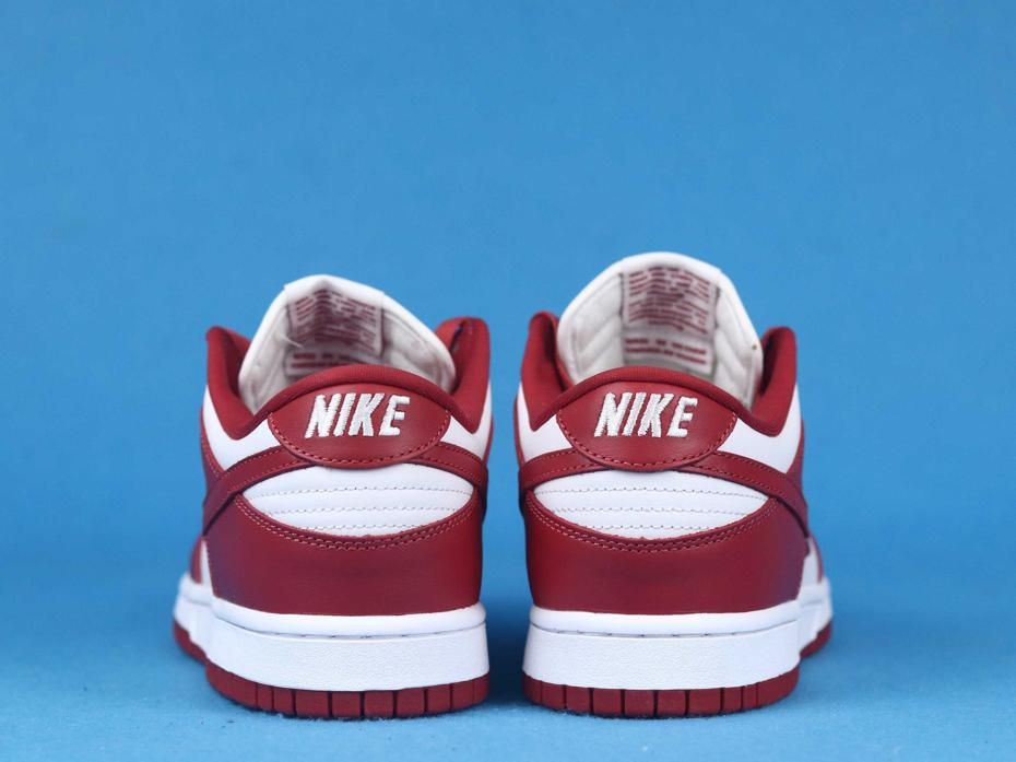 Nike Dunk Low St. Johns University Red 2020 5