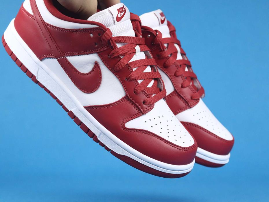 Nike Dunk Low St. Johns University Red 2020 8
