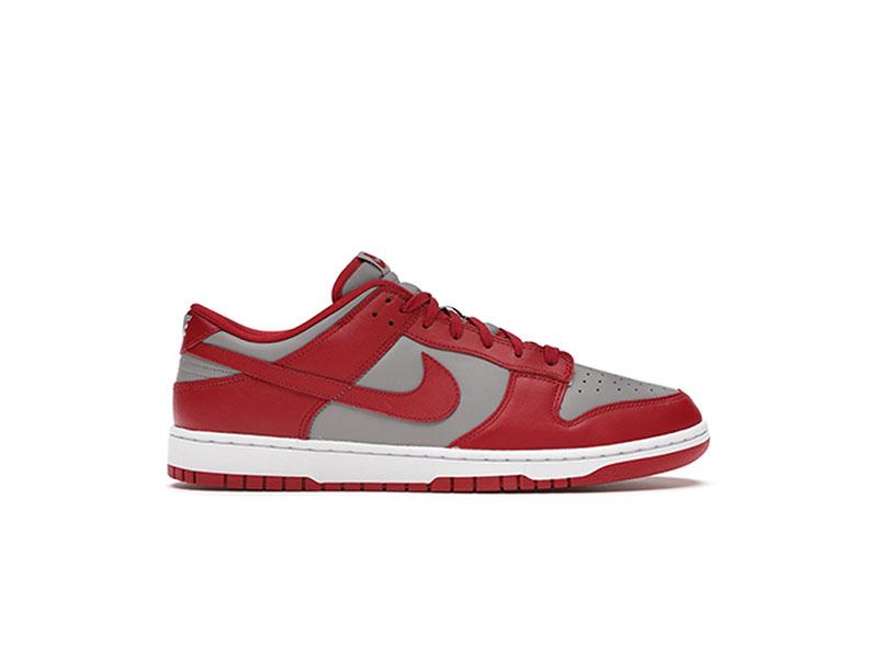 Nike Dunk Low Retro Medium Grey Varsity Red UNLV 2021