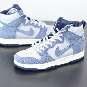 Notre x Nike Dunk High Midnight Navy 1