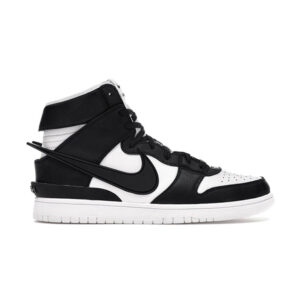 ambush x nike dunk high black white