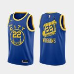 andrew wiggins warriors 2020 21 royal classic edition jersey