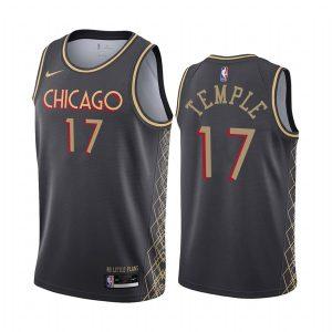 bulls garrett temple black city 2020 trade jersey