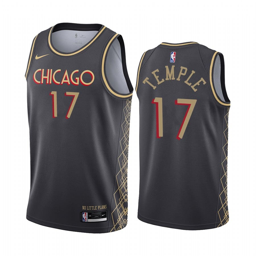 bulls garrett temple black city 2020 trade jersey
