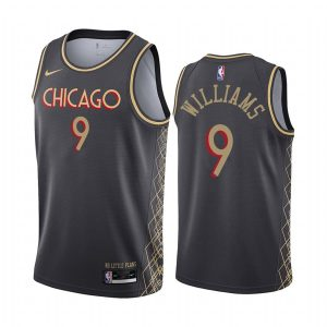 bulls patrick williams black city 2020 nba draft jersey