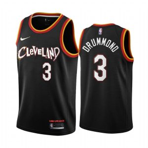 cavaliers andre drummond black city new uniform jersey