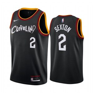 cavaliers collin sexton black city new uniform jersey