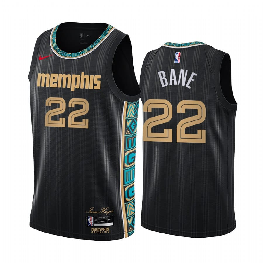 grizzlies desmond bane black city edition 2020 nba draft jersey