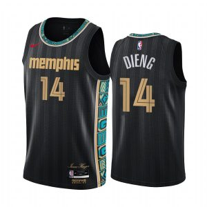 grizzlies gorgui dieng black city new uniform jersey