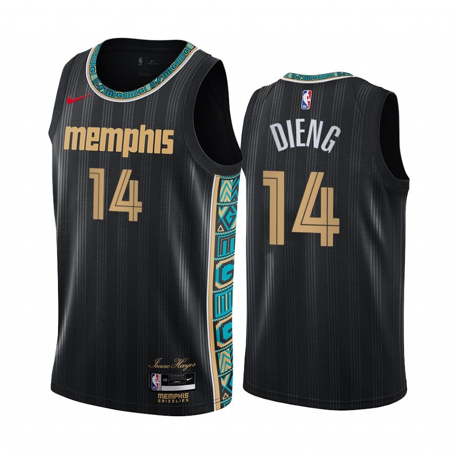 grizzlies gorgui dieng black city new uniform jersey