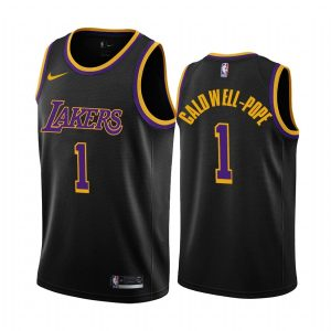 kentavious caldwell pope lakers 2020 21 earned edition black jersey