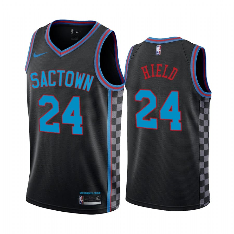 kings buddy hield black city edition sactown jersey 1